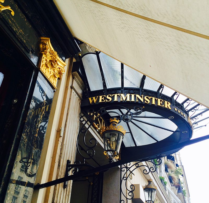 Timeless Parisian Charm at Hotel Westminster Paris