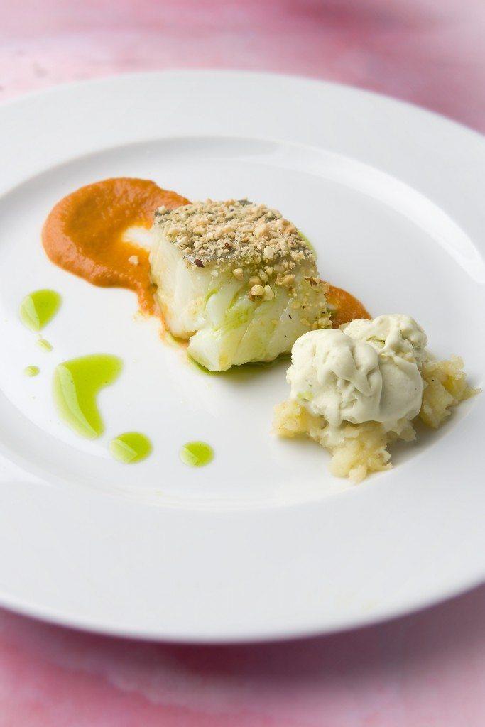 Salt cod fillet Biscay style