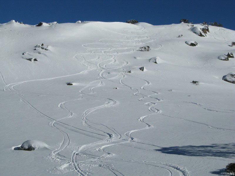 Skiing in Australia is Different
