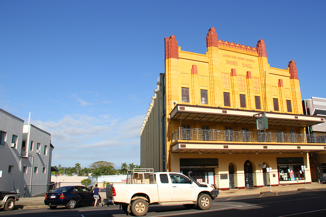 Innisfail is the Art Deco Capital of Australia