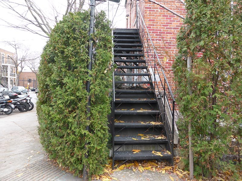 Outdoor Staircases of Montreal