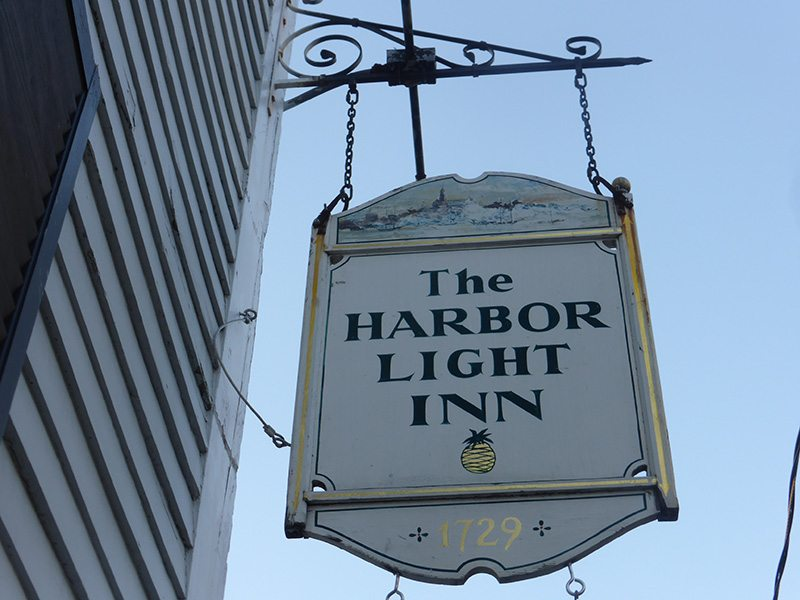 It is just so pleasant at Harbor Light Inn, Marblehead, MA