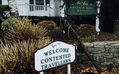 Welcoming at the Harbor Hill Marina, Niantic, CT