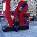 LOVE is Actually by Robert Indiana