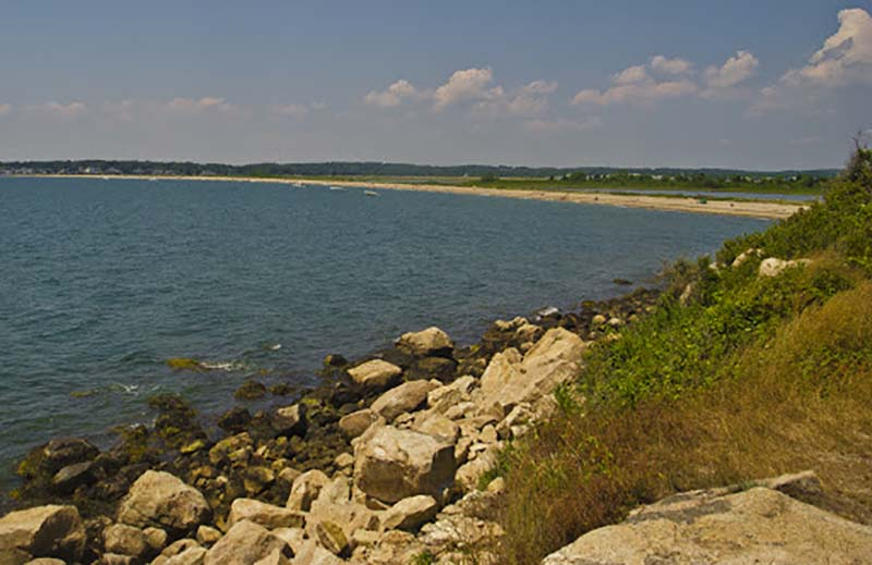 bluff point state park beach
