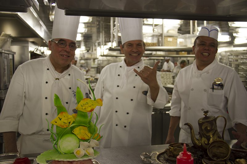 A Culinary Immersion Experience on Golden Princess