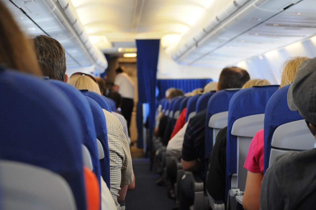 Aisle, Window, or Middle Seat on a Flight?