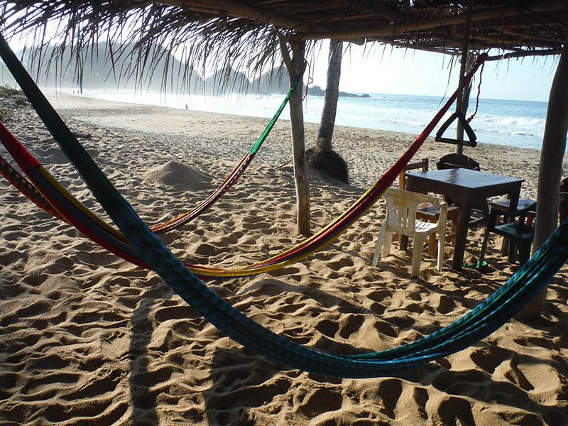 Zipolite, Mexico – Outside My Front Door