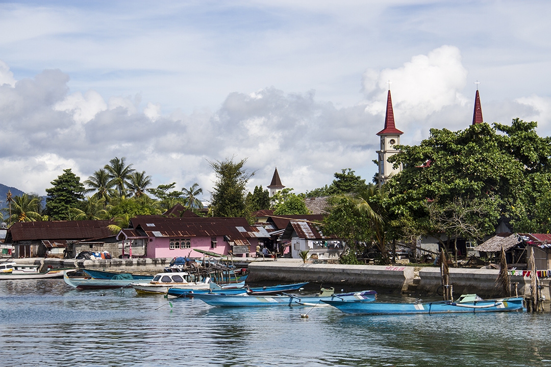 Indonesian Spice Islands of Saparua and Ambon