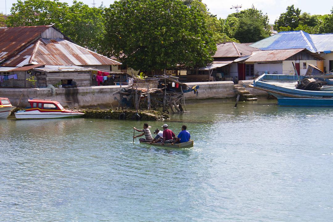 Indonesian Spice Islands of Saparua and Ambon