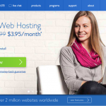 Bluehost Home Landing Page