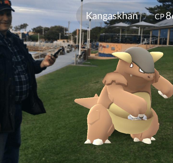 Pokémon Go has Australians on their Feet
