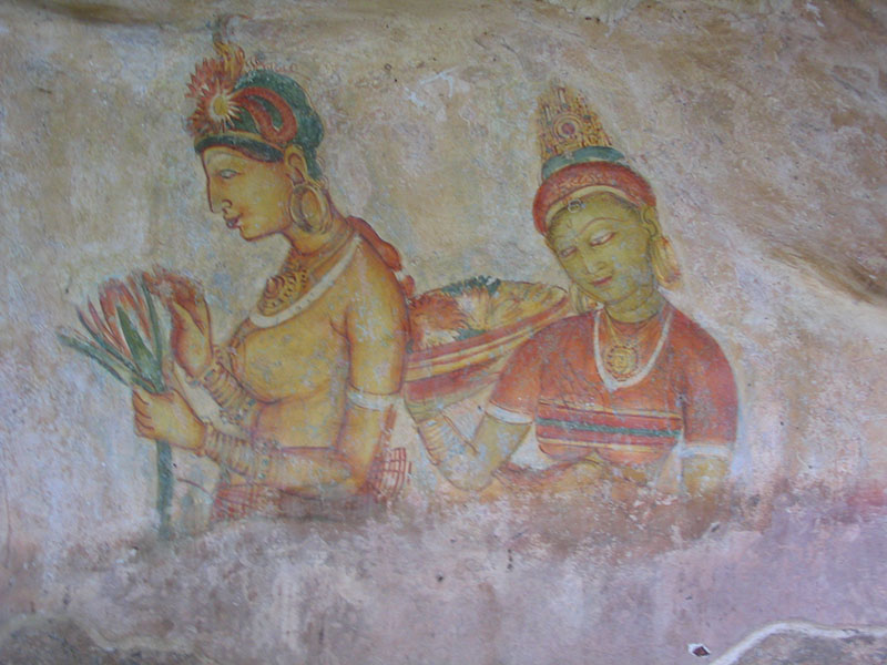 Discover the Sigiriya Maidens of Sri Lanka