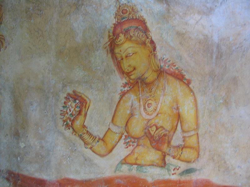Sigiriya Maidens of Sri Lanka