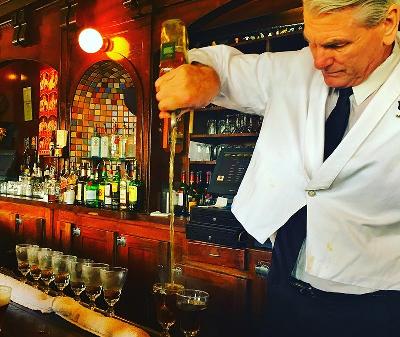 Having an Irish coffee for breakfast at the Buena Vista Cafe, is a rite of passage for many tourists