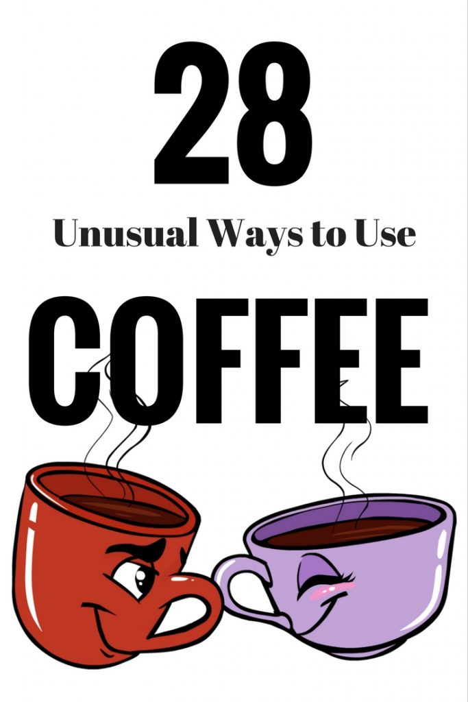 Unusual Ways to Use Coffee