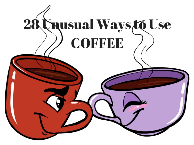 28 Unusual Ways to Use Coffee