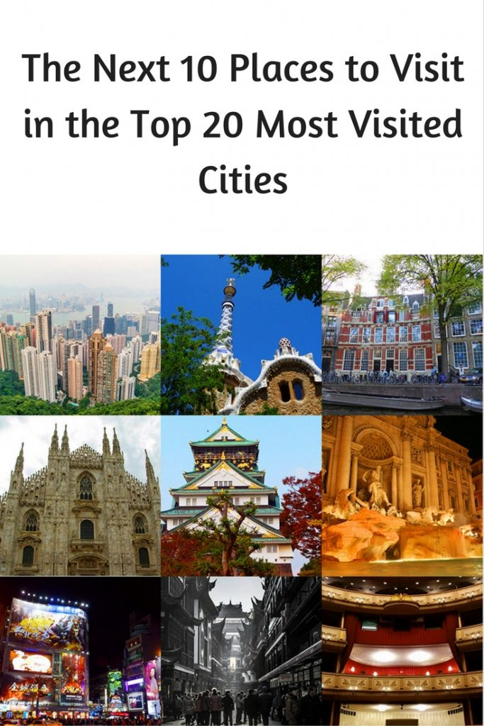 The Next 10 Places to Visit in the Top 20 Most Visited Cities