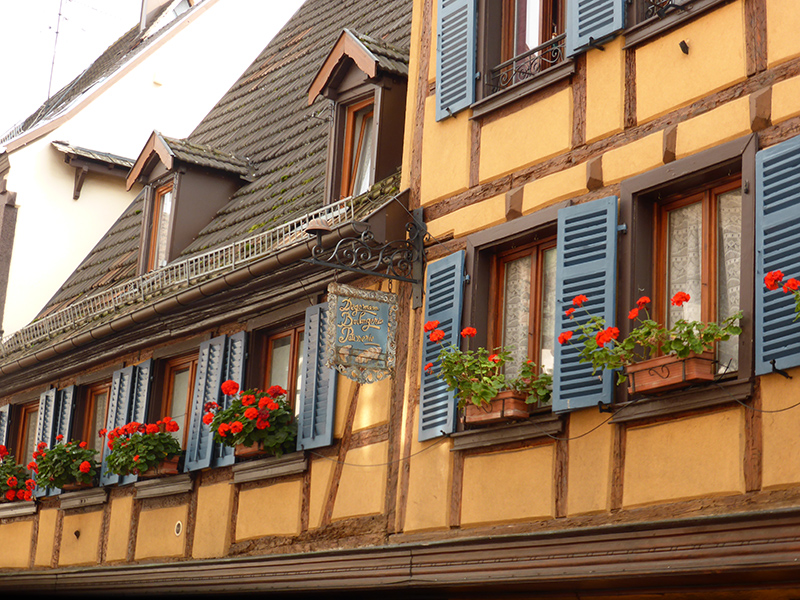 Town of Obernai in France