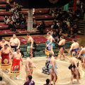 Grand Champions parade of honour and How to Watch Sumo Wrestling Tournaments in Japan