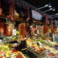 the local mercado or marketplace in Discover The Neighborhoods of Barcelona
