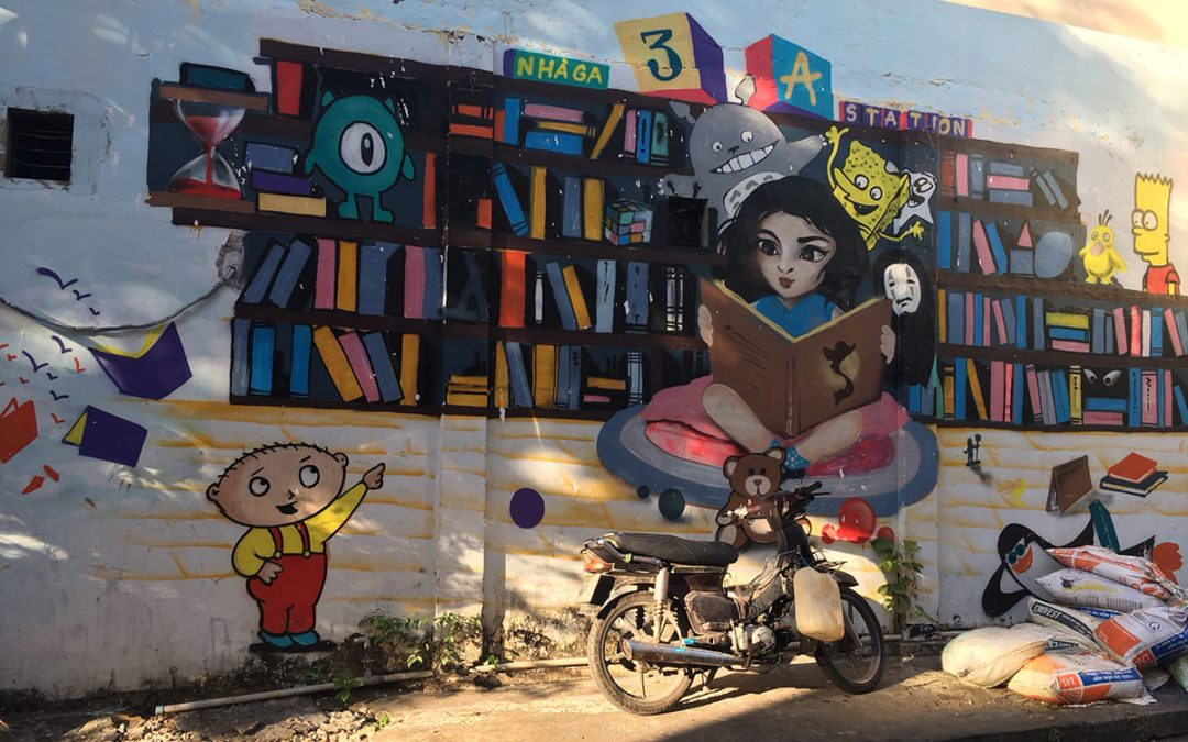 Where to find Street Art in Saigon