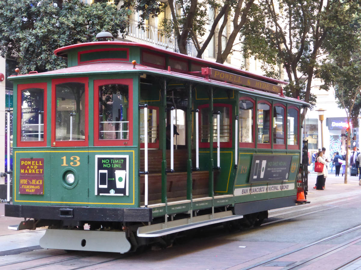Cable Cars of San Francico