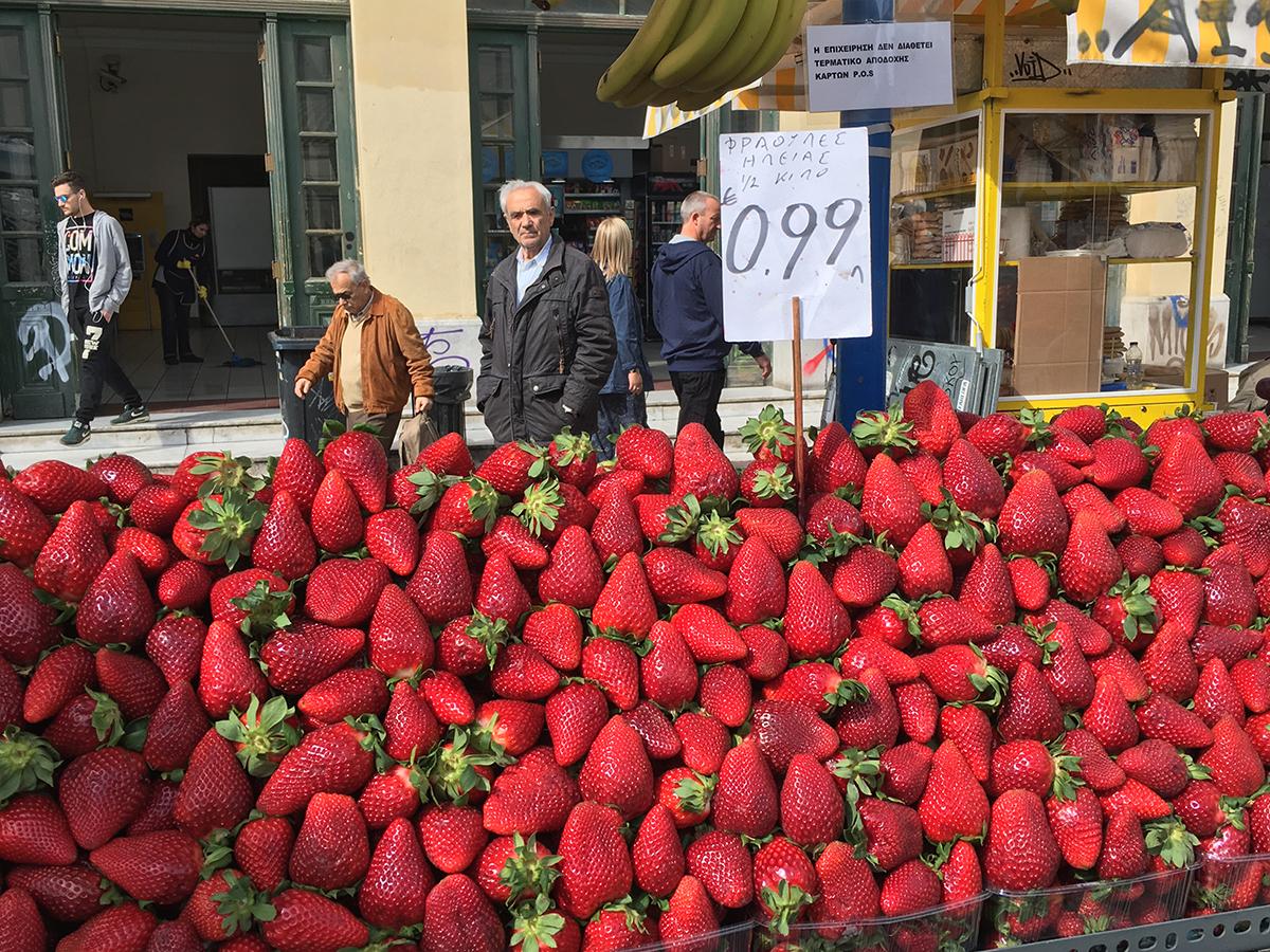 Food Walking Tour of Athens