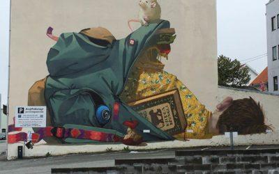 Stavanger in Norway is the City of Street Art