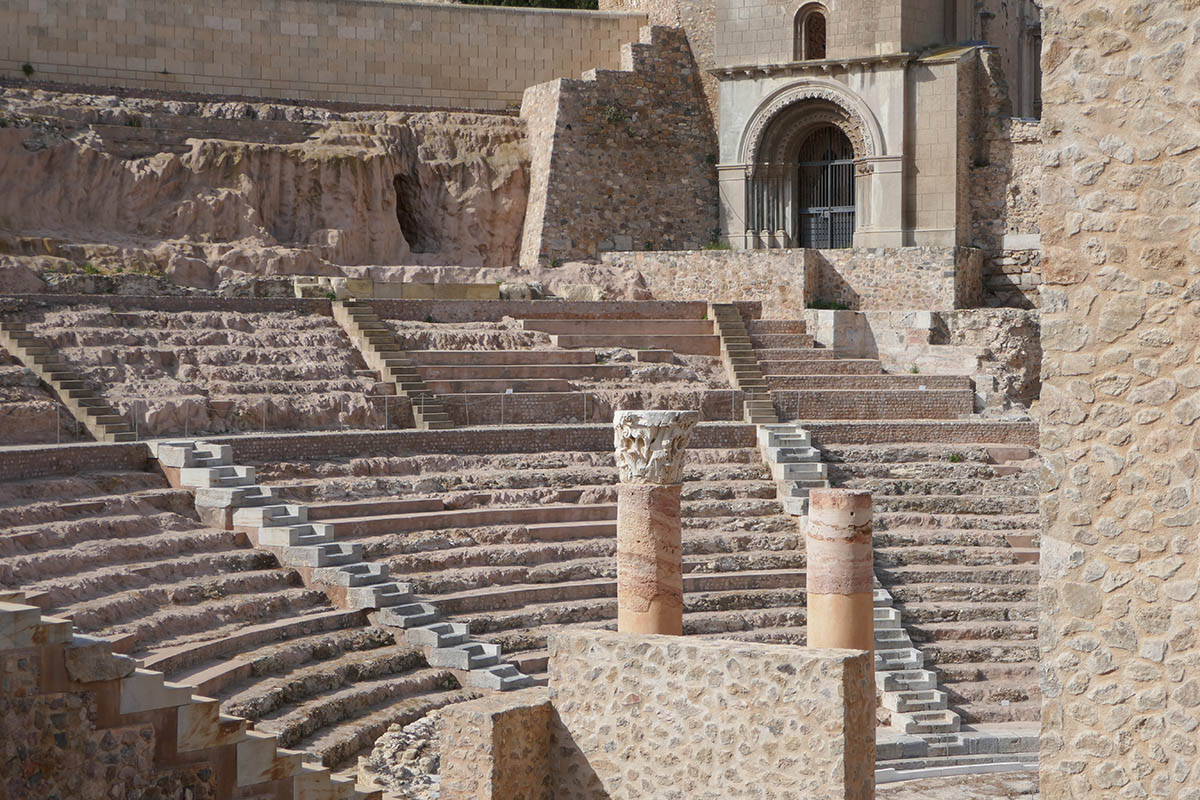 Exploring Cartagena in Spain