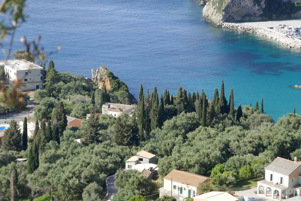 Exploring-the-island-of-Corfu-in-Greec