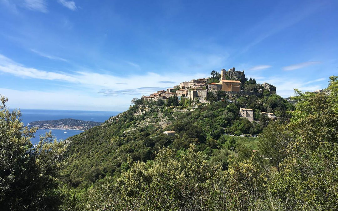 Visiting The Medieval Village of Eze in France