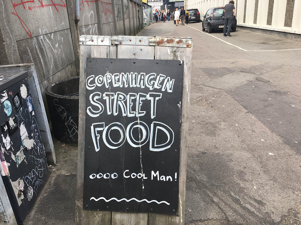 Street Food in Copenhagen