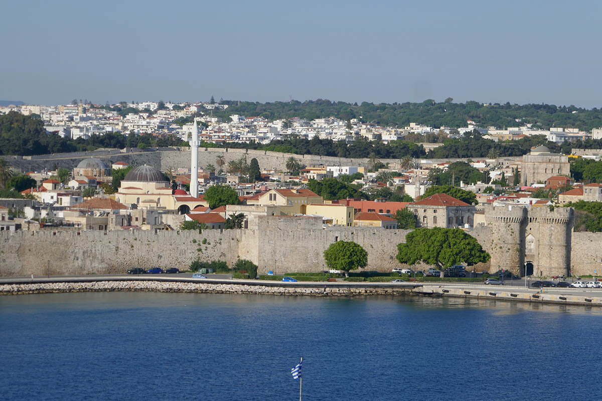 Medieval Island of Rhodes in Greece