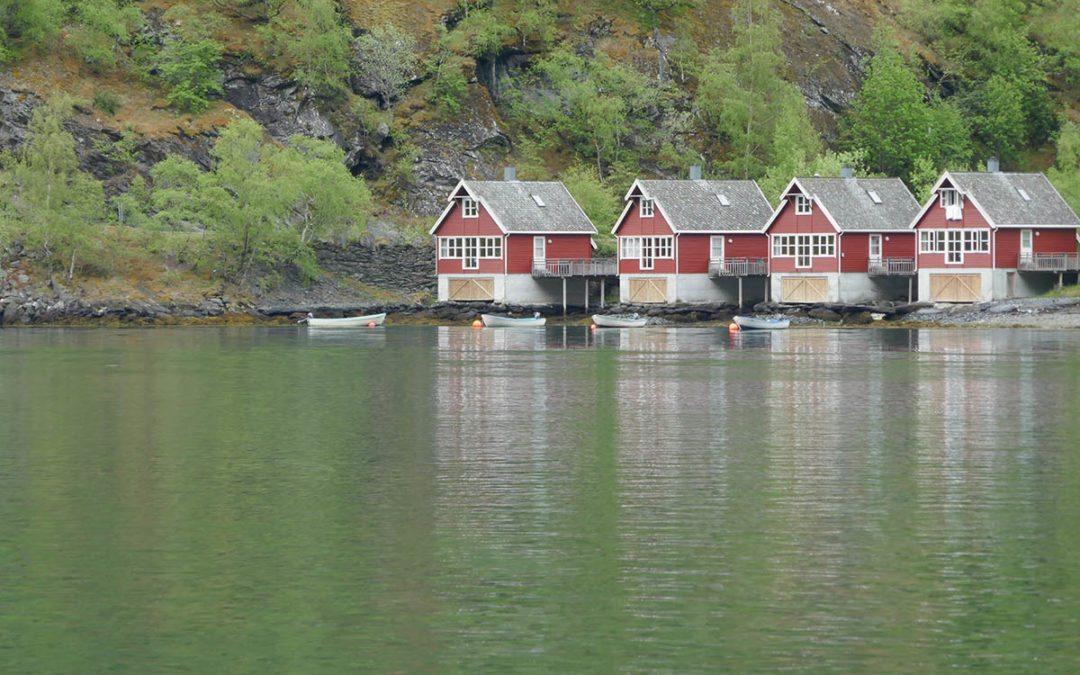 Visiting Flåm in Norway