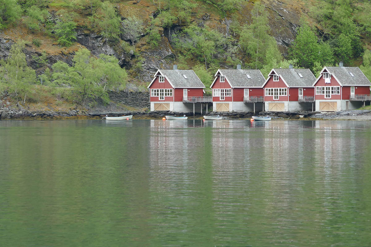 Visiting Flåm in Norway