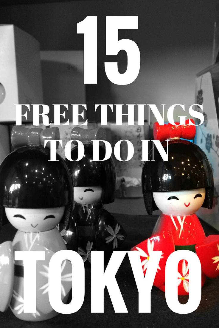 Top 15 Free Things to Do in Tokyo