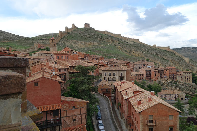 Visit Albarracin, one of the prettiest towns in Spain