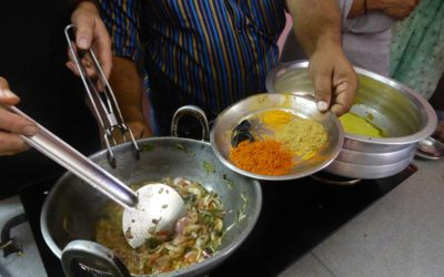 A Cooking Class in Thekkady in Kerala, India …who is a rickshaw driver also