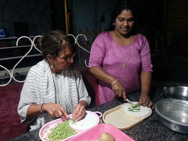 Cooking Class in Thekkady in Kerala, India