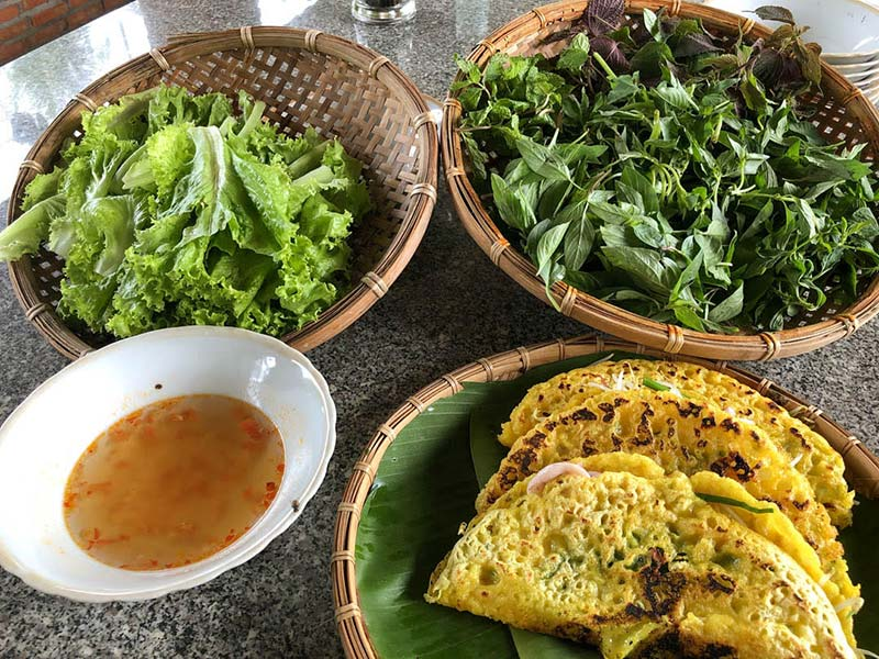 How to make Vietnamese pancakes – Bánh xèo