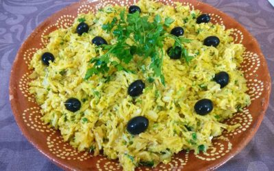 How to make Bacalhau à Brás from Portugal